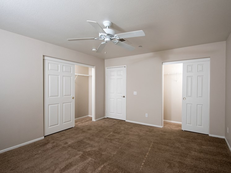 Plush carpeting in bedroom in Legends at Rancho Belago, 13292 Lasselle Street, CA 92553