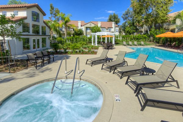 Heated spa at Legends at Rancho Belago, Moreno Valley, CA