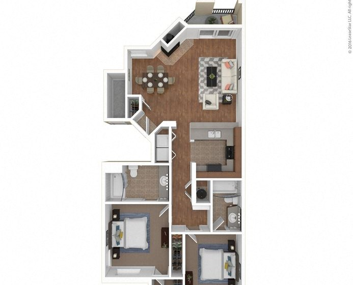 The Del Sol floor plan at Legends at Rancho Belago, CA 92553