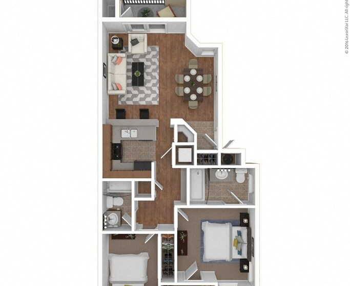 Prima floor plan Legends at Rancho Belago, CA, 92553