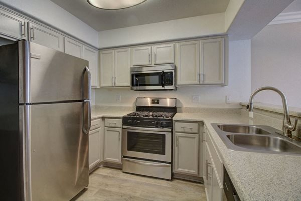 Updated kitchens at Legends at Rancho Belago, Moreno Valley, CA,
