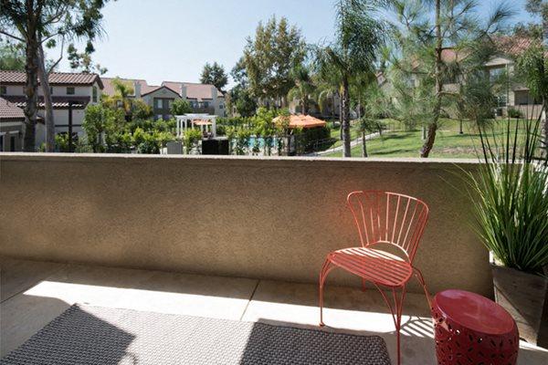 Patio at Legends at Rancho Belago, Moreno Valley, California