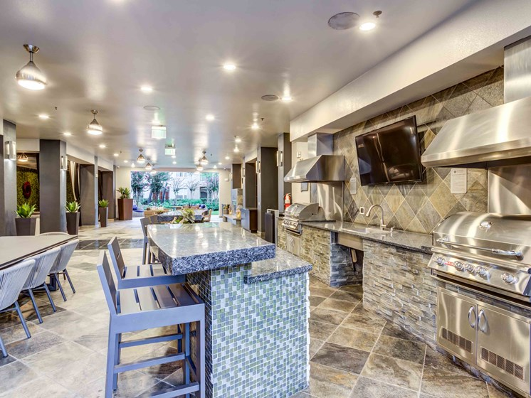 Clubhouse With Catering Kitchen at Domain at CityCentre, Texas, 77024