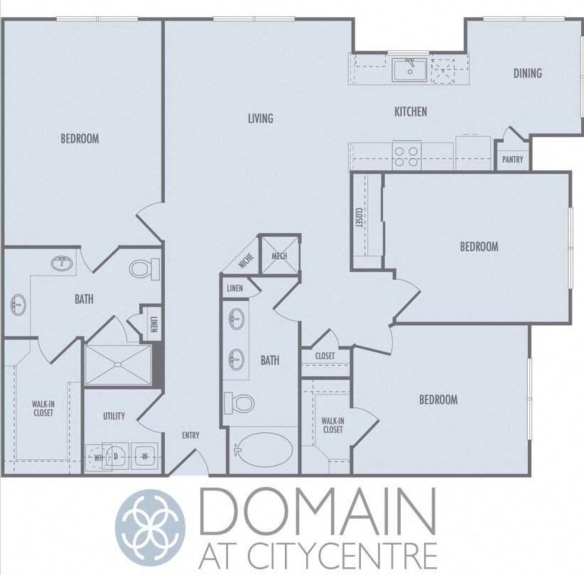 Citycentre Houston Apartments: 1,2 & 3-Bedroom Apartments In Houston