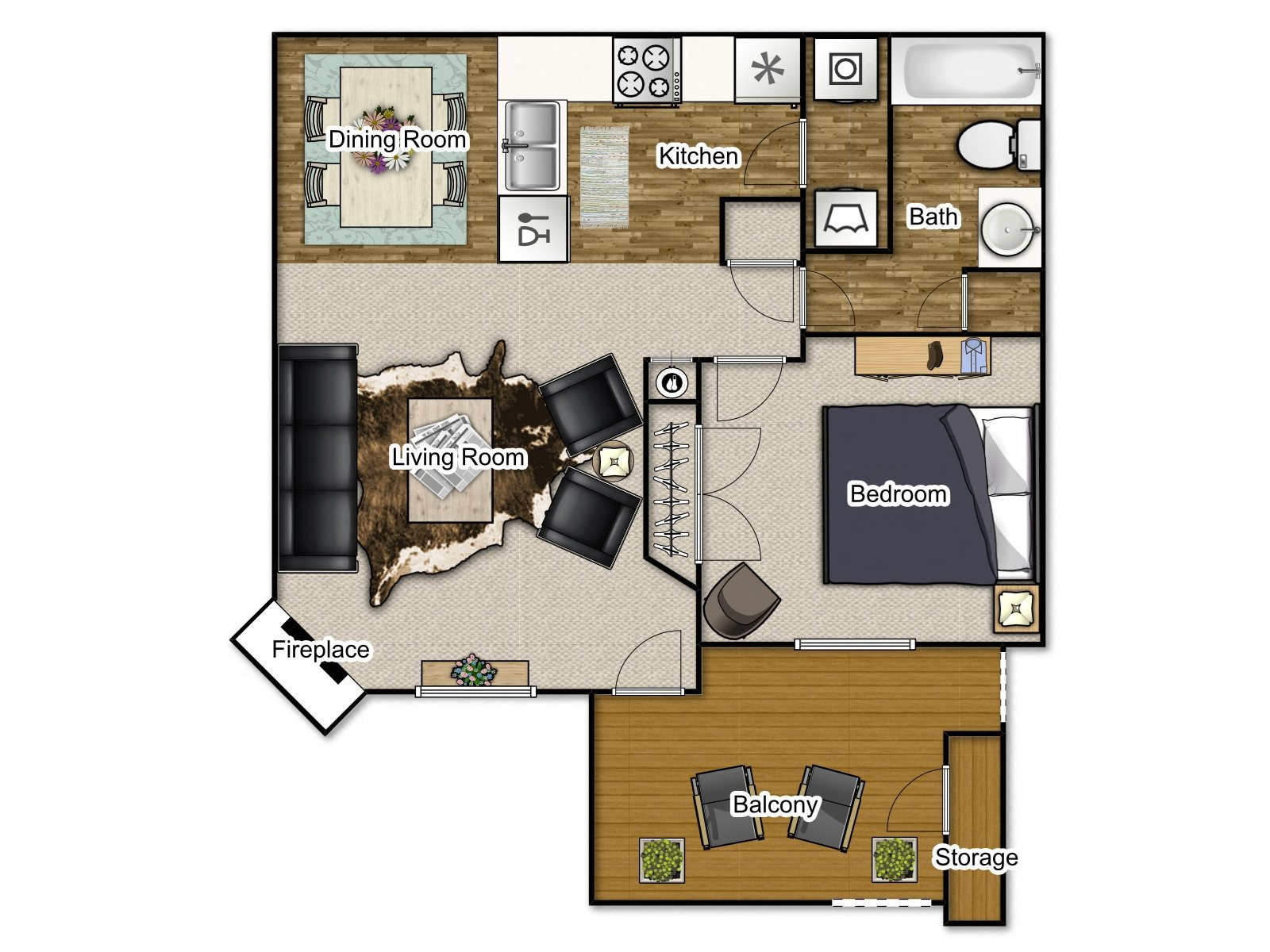 Dogwood Upgrade Floor Plan 3
