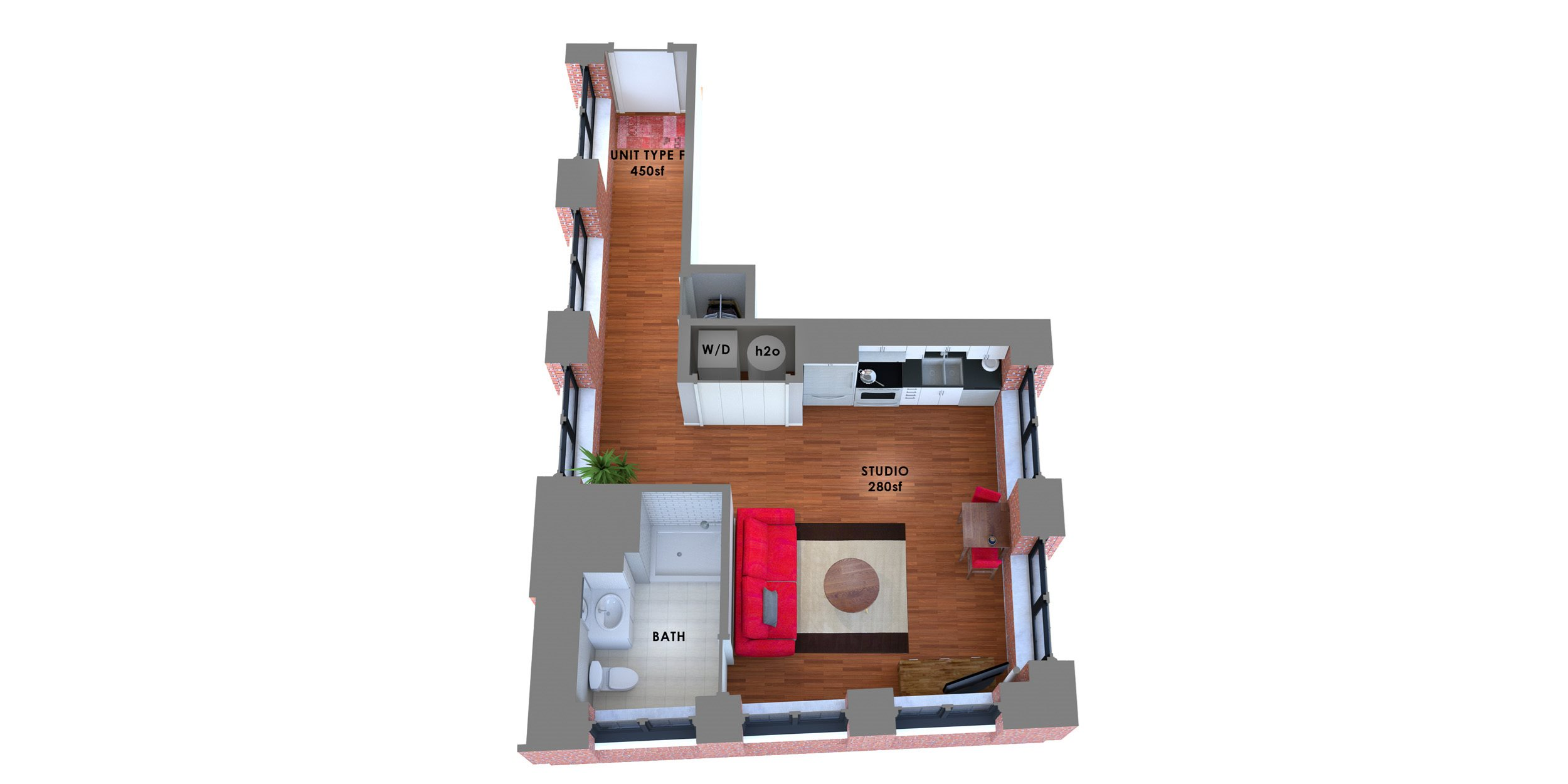95 Lofts Floor Plan F Floor Plan 11