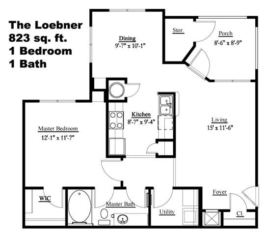 The Loebner Floor Plan 1