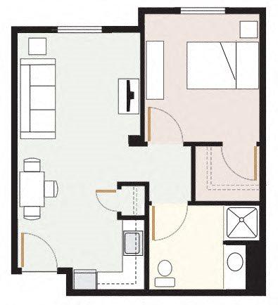 The Fremont Floor Plan 1
