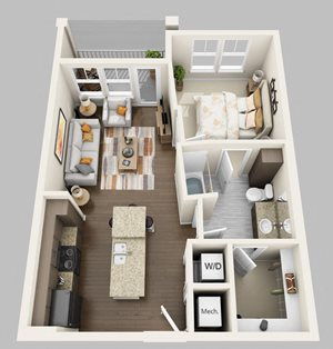 Floor plan at Lake Vue, 7119 Sand Lake Reserve Drive, FL
