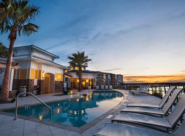Beautiful Outdoor Swimming Pool at Lake Vue, 7119 Sand Lake Reserve Drive, FL