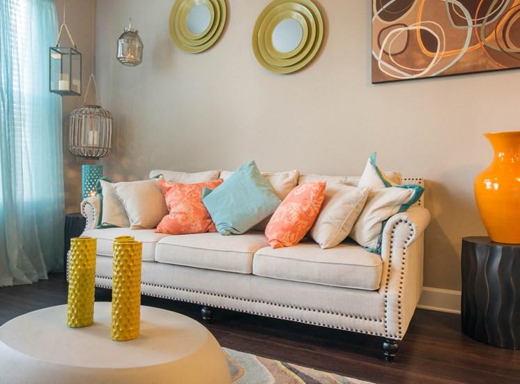 Living Room at Lake Vue, 7119 Sand Lake Reserve Drive, Orlando, FL