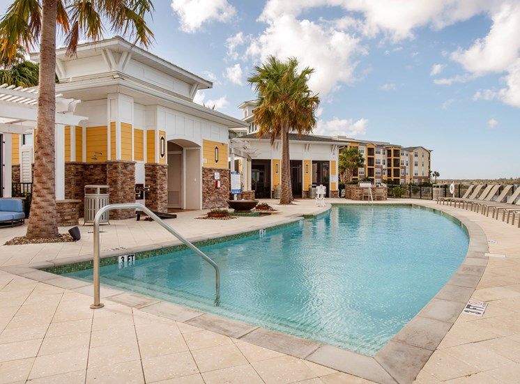 Sparkling Pool at Lake Vue, 7119 Sand Lake Reserve Drive, Orlando, FL