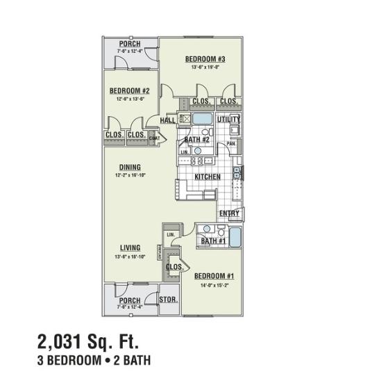 C1D Floor Plan 4