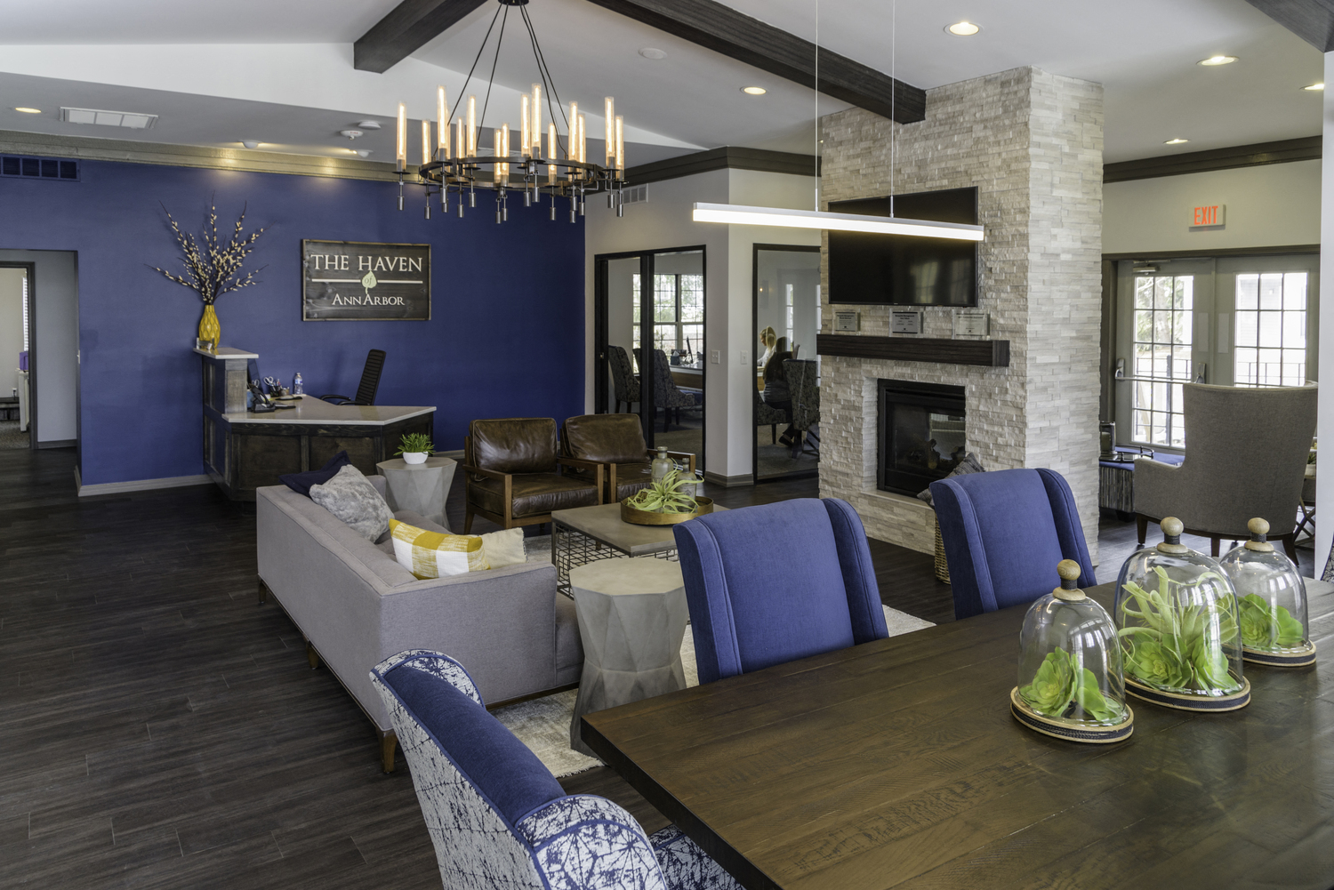 Resident recreation and relaxation at The Haven of Ann Arbor, Ann Arbor, 48105