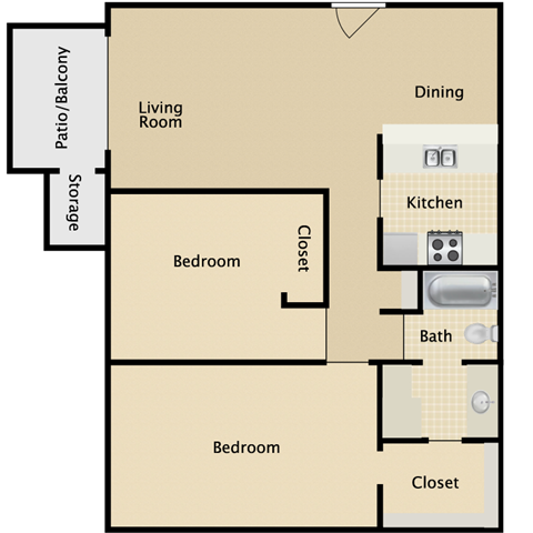 Sublime Floor Plan 3