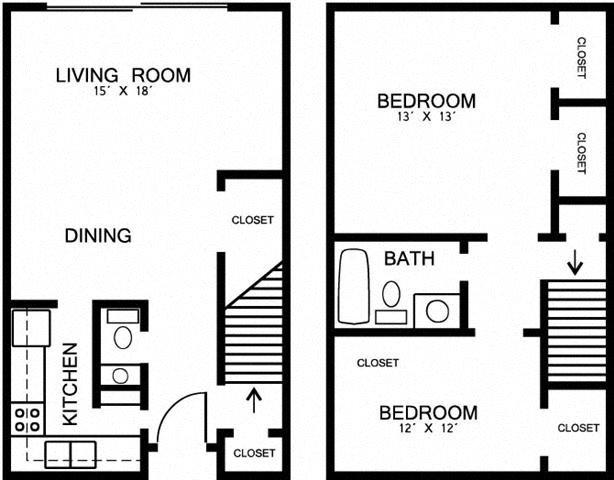 Townhome Floor Plan 4