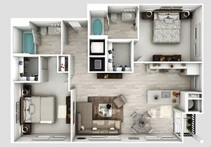 B2-1-Floorplan-2-bedroom