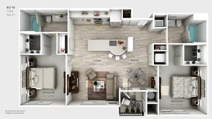B2-10-floorplan-2-bedroom