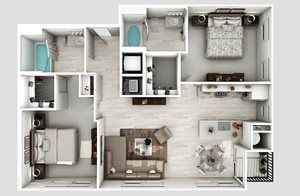 B2-8-Floorplan-2-bedroom