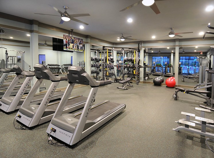 Modern Fitness Center at Reserve at Lavista Walk, Atlanta, Georgia