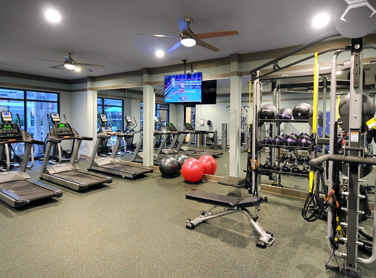 Fully Equipped Fitness Center at Reserve at Lavista Walk, Atlanta, Georgia