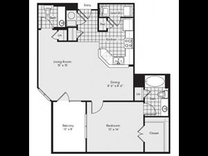 A4 Floor Plan at Reserve at Lavista Walk, 1155 Lavista Walk NE, Georgia