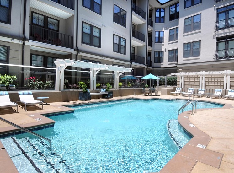 Small Pool Area at Reserve at Lavista Walk, Atlanta, Georgia