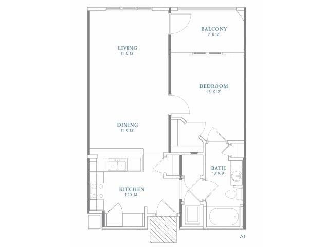 Habersham Floor Plan 1