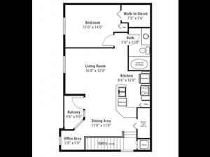 Floor plan at RiverTree, 5959 Bandera Spring Circle, 33578
