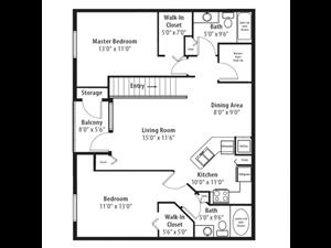Floor plan at RiverTree, 5959 Bandera Spring Circle, FL 33578