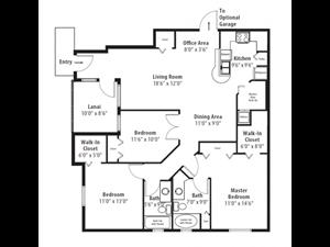 Floor plan at RiverTree, 5959 Bandera Spring Circle, Riverview