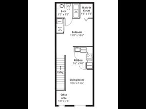 Floor plan at RiverTree, 5959 Bandera Spring Circle, Riverview, 33578