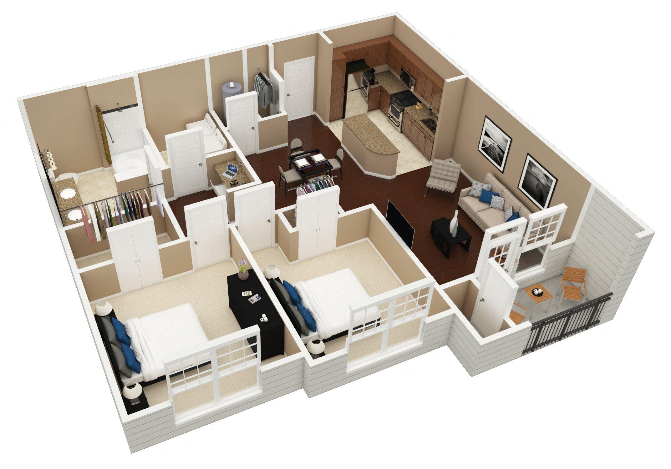 Blank Floor Plan 6