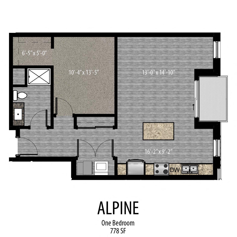 Alpine Floor Plan 6
