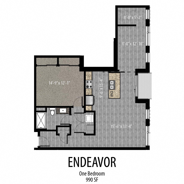 Endeavor Floor Plan 3