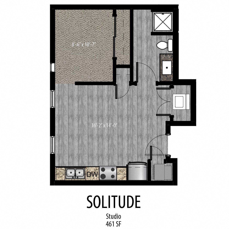 Solitude Floor Plan 10