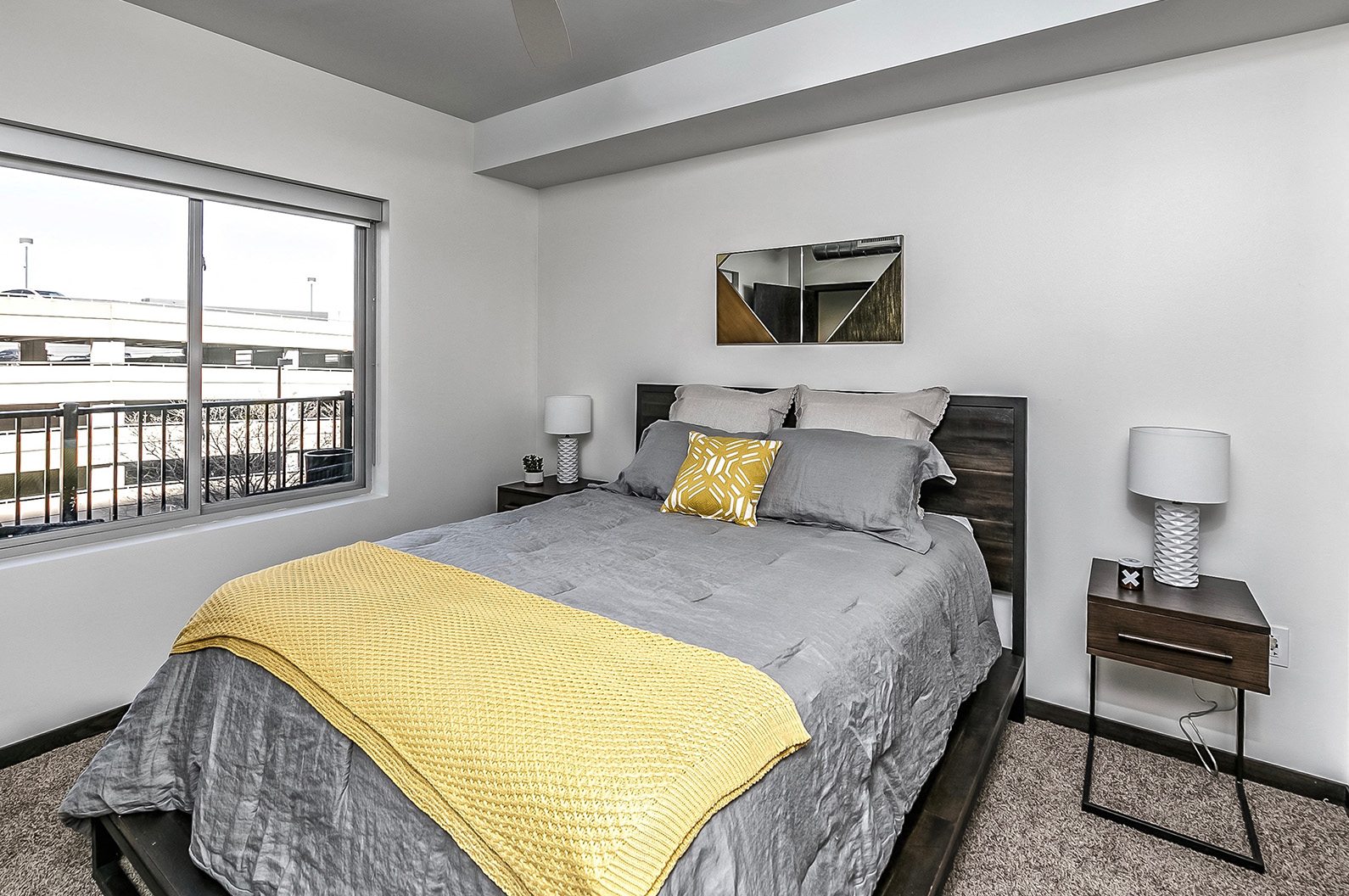 Live in cozy bedrooms at Capitol District, Omaha, 68102