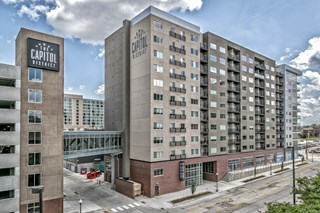 High Rise Apartment Community at Capitol District in Omaha, NE 68102