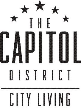 logo at Capitol District, Omaha, 68102