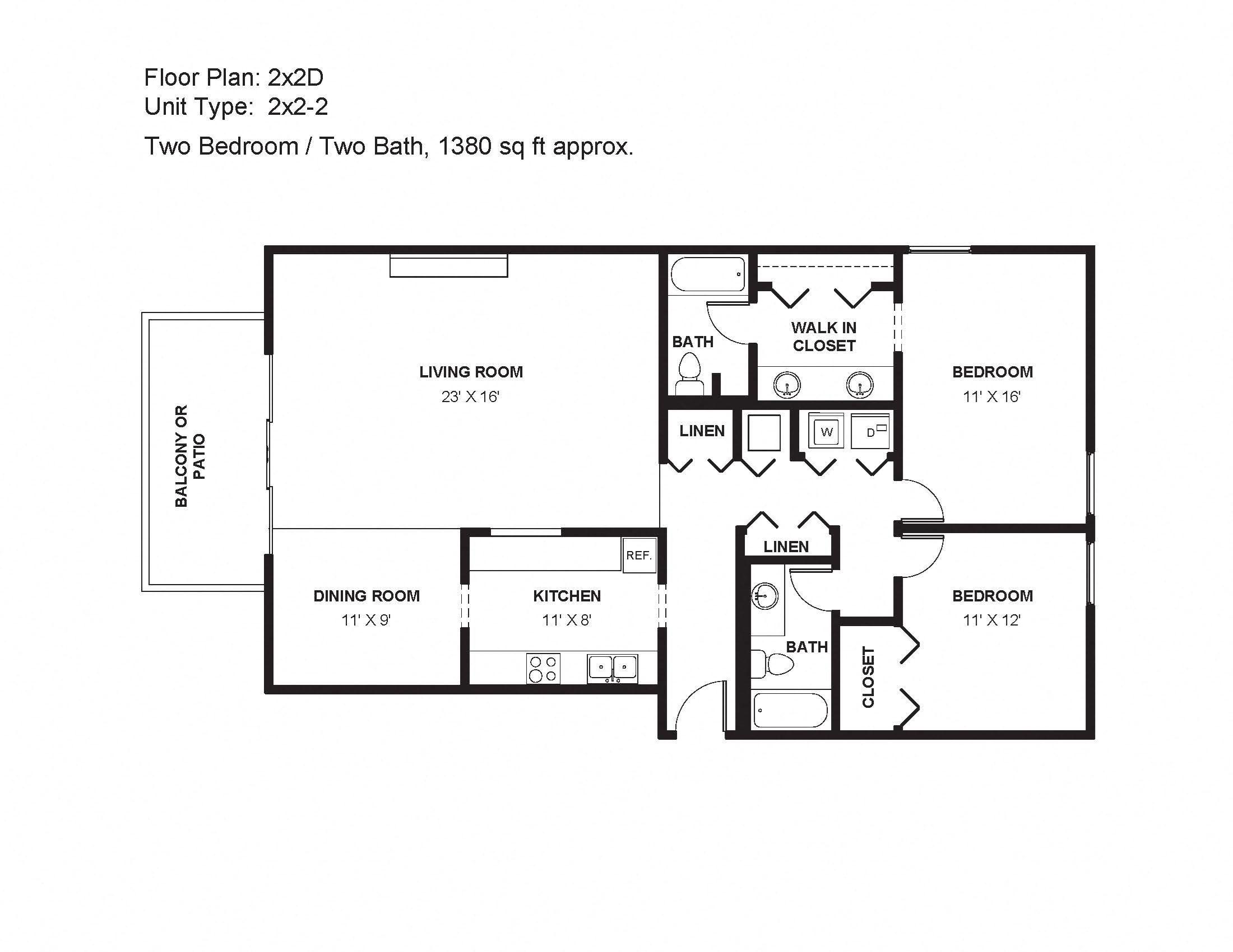 2x2D Floor Plan 13