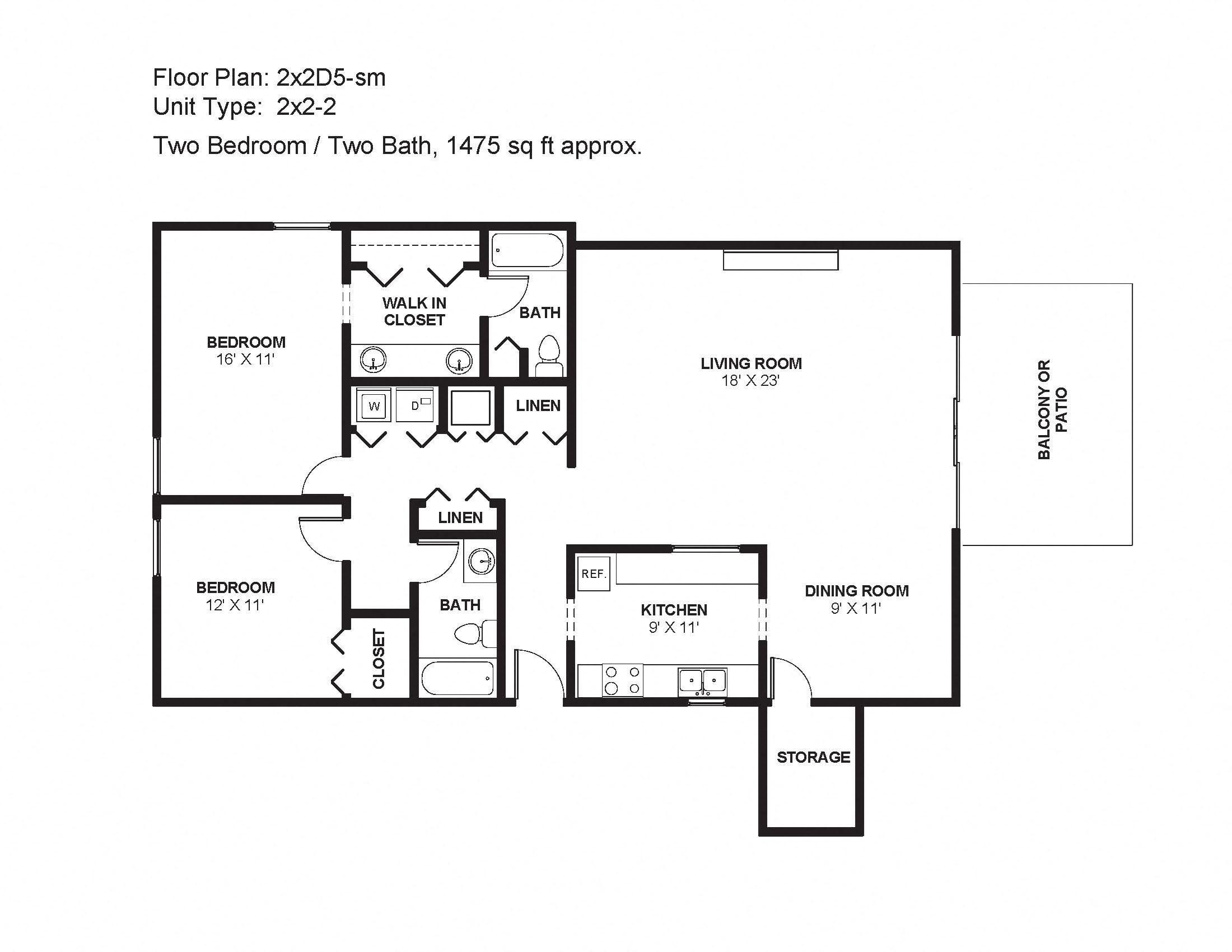 2x2D5-sm Floor Plan 10