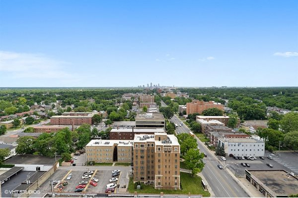 Beautiful City Views from Sundesk at CityView on Meridian, 3801 N. Meridian St, Indianapolis, IN 46208