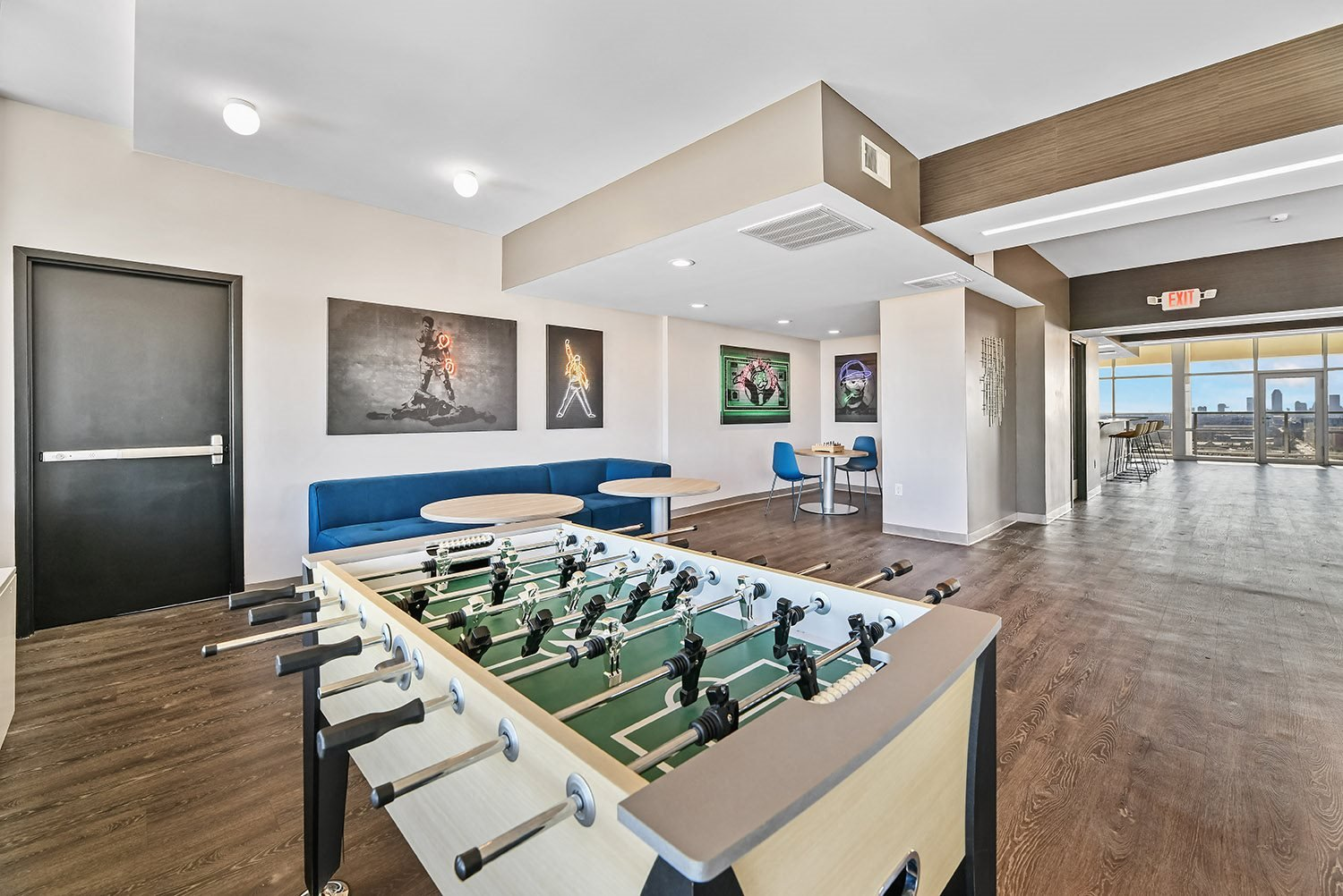 Foossball Table in Game Room at CityView on Meridian, Indiana, 46208