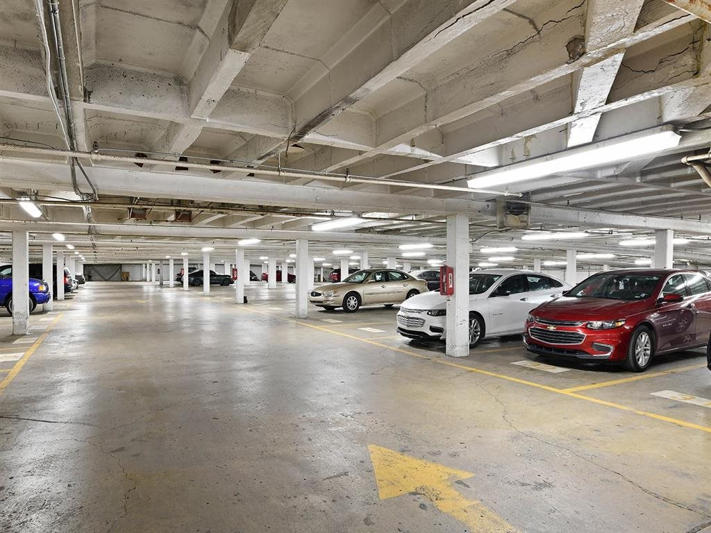 Underground Parking Available at CityView on Meridian, Indianapolis, IN