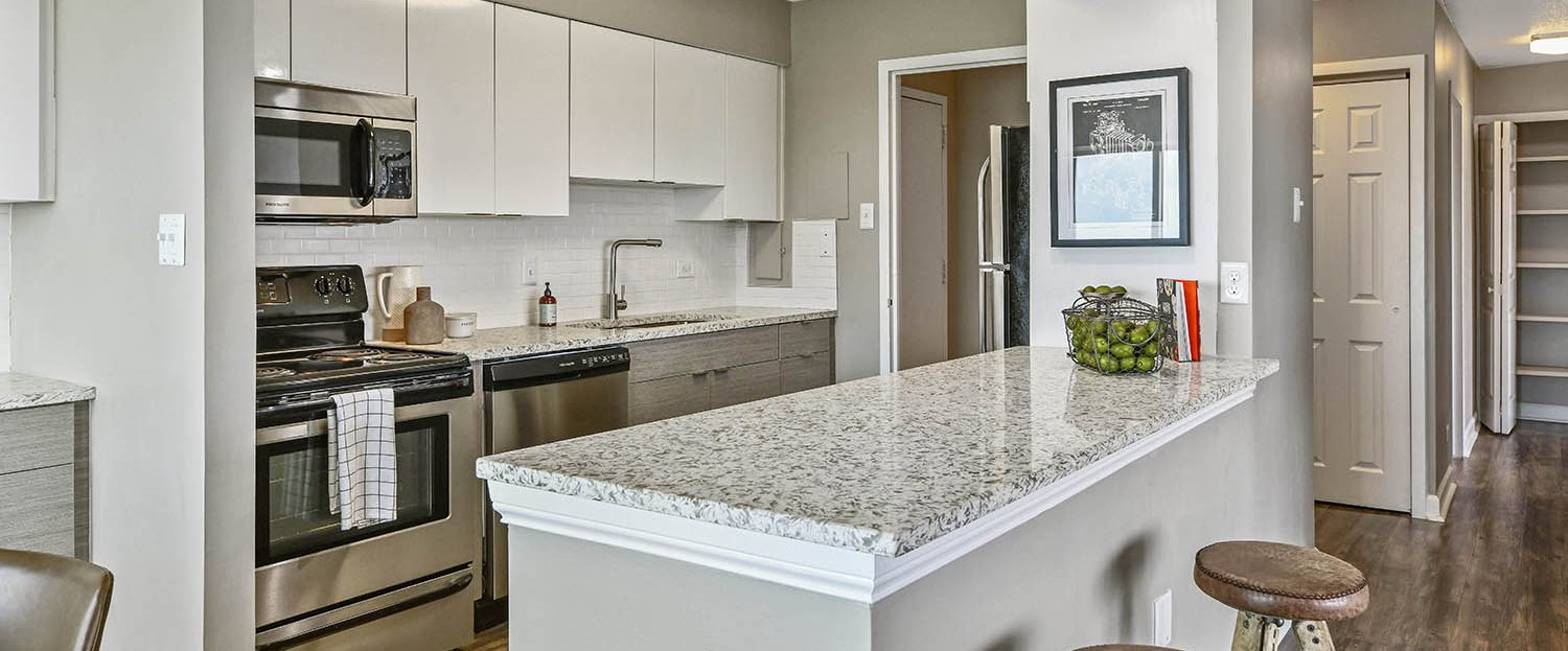 New Granite Countertops At Cityview On Meridian Indiana