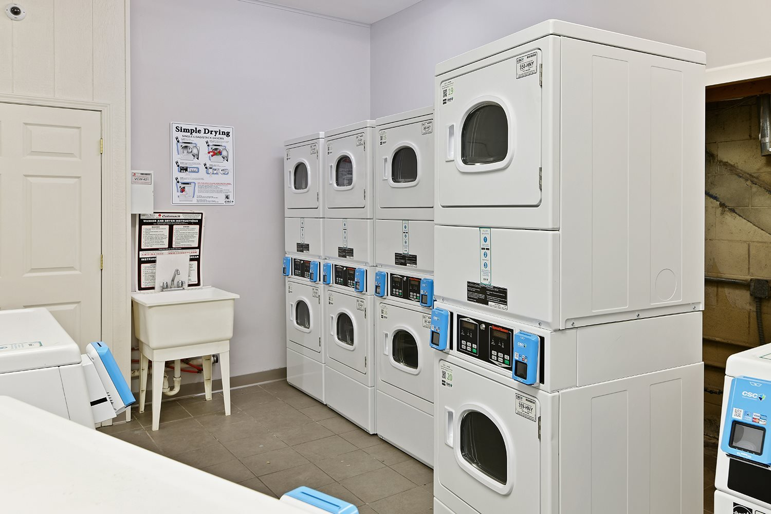 On Site Laundry Facilities at CityView on Meridian, Indiana