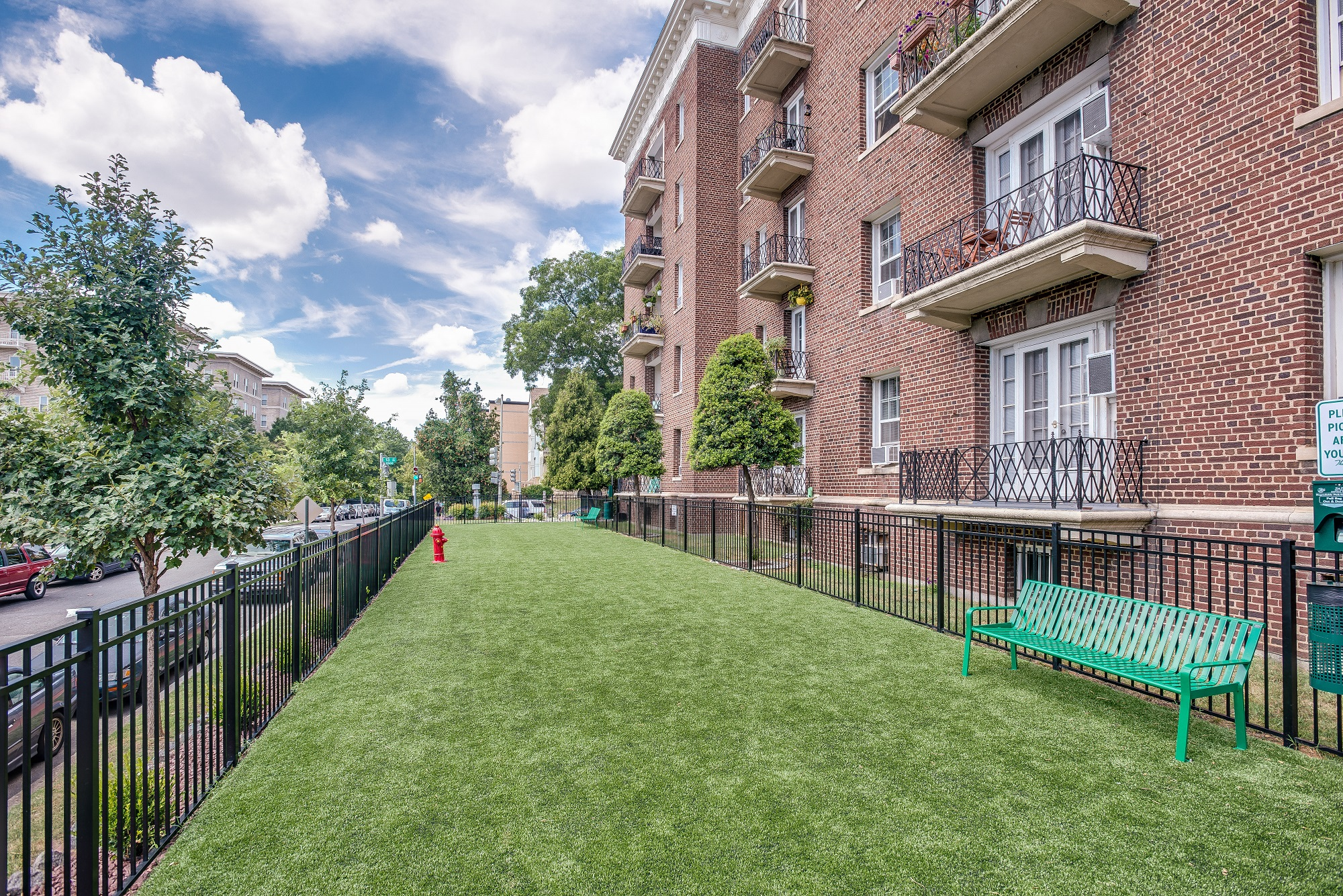 Highview Castle Manor Apartments Dog Park Near Columbia Heights And U  Street Washington DC