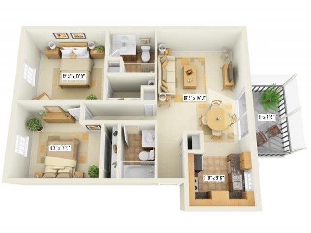 B2R Floor Plan 8