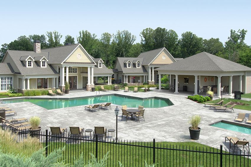 pool with sundeck and clubhouse