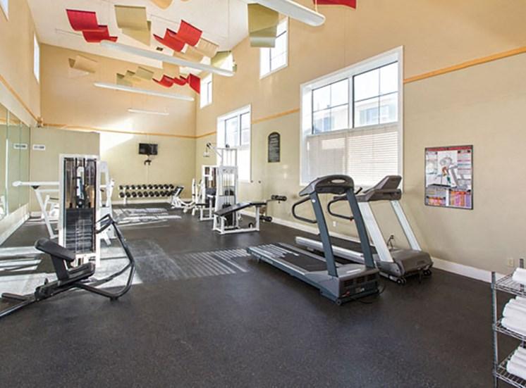 Highland Park fitness center.
